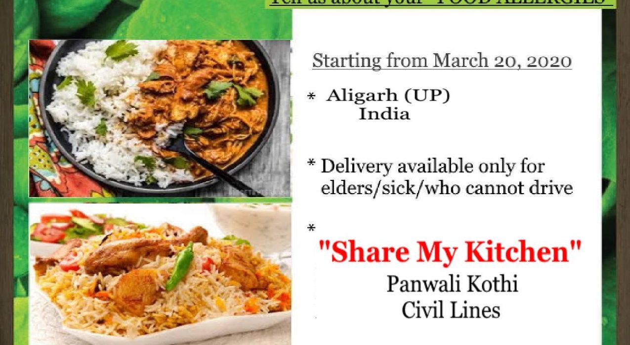 """Share MY Kitchen"" in Aligarh (UP)"